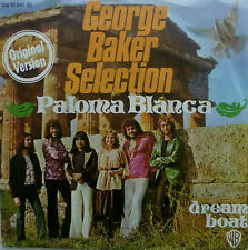 "7"" 1975 MINT- ! GEORGE BAKER SELECTION : Paloma Blanca"
