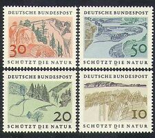 Germany 1969 Nature Protection/Environment/Trees/Lakes/Mountains 4v set (n36673)