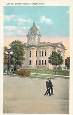 TUPELO, Mississippi  MS    Lee County COURT HOUSE  Courthouse  ca 1920  Postcard
