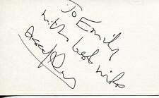 """ASSAF ASSI DAYAN ISREALI ACTOR """"MY FATHER THE LORD"""" SIGNED CARD AUTOGRAPH"""