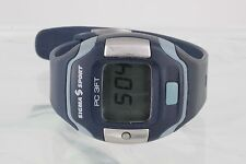 SIGMA SPORT PC 3FT HEART RATE MONITOR WR BLUE WRIST WATCH 9319