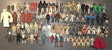Huge Vintage 1977- 1985 Star Wars Action Figure Lot of 87 with 2 Cases & Weapons