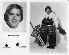Ken Dryden team Canada 1972 Unsigned 8x10 Photo