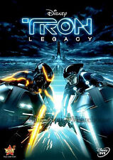 Disney TRON 2 Video Game Movie Sequel Legacy on DVD English French and Spanish