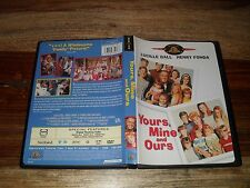 Yours, Mine and Ours (DVD, 2001, Movie Time) RARE!!