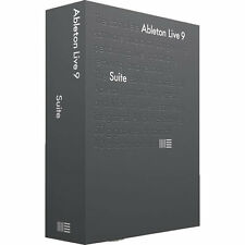 Ableton Live 9 SUITE -Complete, Integrated Live 9 Studio- Download (Academic)