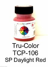 Tru-Color TCP-106 SP Southern Pacific Daylight Red 1 oz Paint Bottle