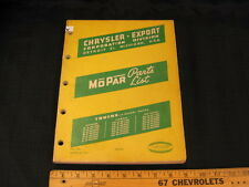 1957 Dodge Fargo Desoto Trucks Export Market Illustrated Parts Book