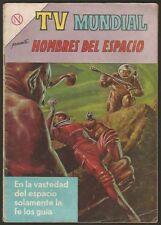 Tv Mundial #26 Hombres Del Espacio Comic Spanish Mexican Novaro 1964