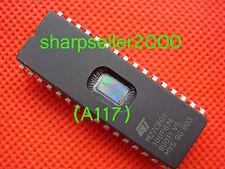 1pc ORIGINAL NEW ST M27C801UV  M27C801-100F6 DIP-32PIN