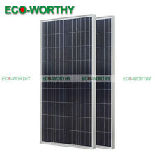 300W 12V Poly Solar Panel off Grid for Yacht Camping Vehicle Battery Charge