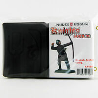 54mm Medieval English Longbowman casting rubber Prince August moulds molds PA428