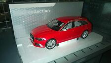 Genuine Audi RS6 1:18 Scale Model - Misano Red