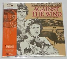 Mario Millo & Jon English / Against The Wind - OST - JAPAN SHM-CD Mini LP w/OBI