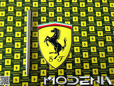 Original emblema ferrari cavallino pegatinas emblema logotipo sticker badge decal 10cm