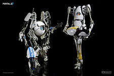 "ThreeA 3A 1/6 Valve Portal 2 ATLAS & P-BODY 12"" Light Up Action Figures MISB"