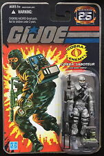 Gi joe 25th Silver Logo Firefly 3 3/4 Action Figure Package