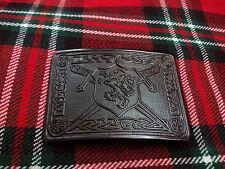 TC New Men's Kilt Belt Buckle Saltire Lion Rampant/Lion Rampant Kilt Belt Buckle