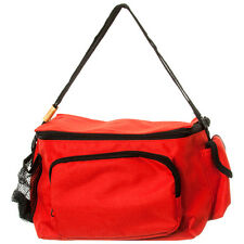 RED Waterproof  Lunch bag Travel Insulated Cooler Tote Bag Box w/Shoulder Strap
