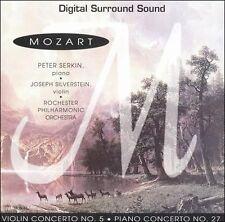 PETER  PIANO SERKIN - Mozart: Violin Concerto No. 5; Piano... CD