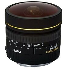Sigma 8mm f3.5 Circular Fisheye EX DG Lens For Canon