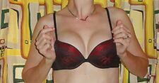 Vassarette Push Up Bra 34 A lace pin up clothing girl burlesque retro cleavage