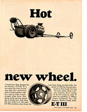 1968 E-T MAG WHEEL ~ ORIGINAL PRINT AD