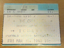 1990 THE CREATURES TIJUANA CONCERT TICKET STUB SIOUXSIE AND THE BANSHEES SIOUX