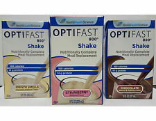 OPTIFAST800 READY-TO-DRINK SHAKES - 1 CASE - CHOCOLATE - 27 SERVINGS - FRESH/NEW