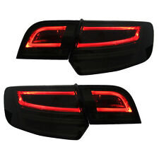 LED Light Tube taillights in black smoked fit for Audi A3 8PA Sportback 04-08