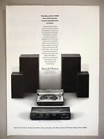 Bang & Olufsen Beosystem 4000 PRINT AD - 1973 ~ stereo, speakers