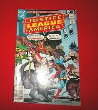 JUSTICE LEAGUE OF AMERICA #174 A PLAGUE OF MONSTERS! 1980