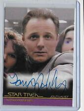 Star Trek Movies A89 Tommy Hinkley as Journalist Auto Autograph