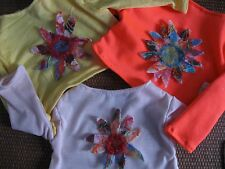 Nuno Felted Flower Shirt for American Girl Doll/Journey Doll Pick Your Color,
