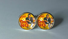 James Bond 007, Dr No Poster style, Glass domed cufflinks