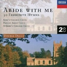 CAMBRIDGE CHOIR OF KING'S COLLEGE - ABIDE WITH ME-HYMNS  2 CD  50 TRACKS NEU