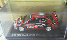 "DIE CAST "" MITSUBISHI LANCER EVO VIII - 2005  "" RALLY DEA SCALA 1/43"