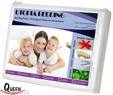 TWIN Utopia Bedding Water And Bed Bug Proof Mattress Encasement TWIN