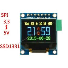 "0.96"" 65K Color OLED Display Serial SPI Small LCM Module for Arduino Uno R3 51"