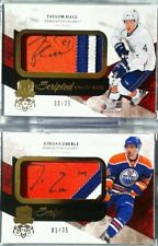 wOw! 1/35 1/1 JORDAN EBERLE SCRIPTED SWATCHES ROOKIE JERSEY PATCH AUTO THE CUP