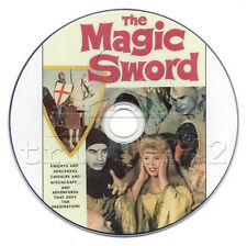 The Magic Sword (1962) Basil Rathbone British Fantasy / Adventure Movie on DVD