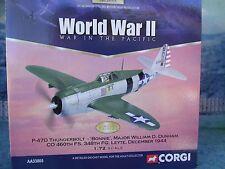 """1/72 Corgi Aviation AA33803 P-47D Thunderbolt 360th FS """"Bonnie"""" William Dunham"""