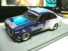 Ford Escort RS Zakspeed MKII talla 2 DRM Denim V deben a 1982 zolder #83 neo s 1:43