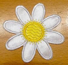 Seerose Blume Aufnäher / Aufbügler Bügelbild Kinder Applikation water lily patch