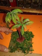 legno 9x9 cm con gruppo palme  x pastori 7 10 cm  presepe crib