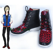 Original Yuri!!! on Ice Plisetsky Yuri Men's Shoes Cosplay Shoes Free Shipping