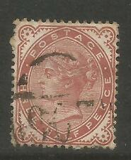 Great Britain 1880-81 Queen Victoria 1 1/2p red brown (80) used