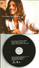ROBIN THICKE When I get you Alone RARE CLEAN TRK EUROPE Made PROMO DJ CD single