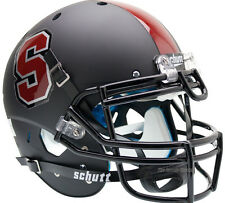 STANFORD CARDINAL BLACK SCHUTT XP AUTHENTIC FOOTBALL HELMET