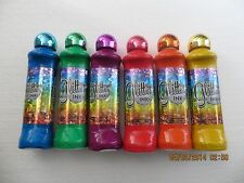 Glitter Ink Bingo Daubers - set of six
